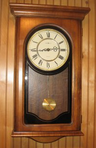 Howard Miller Westminster Chimes Pendulum Wall Clock