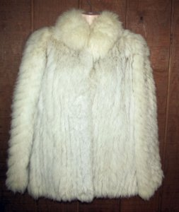 Saga Fox Fur Jacket Coat Genuine PD Furs